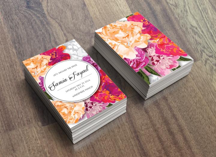 Floral Fashion BridalShower