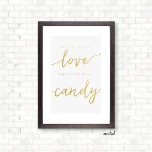 Candy Bar - $10
