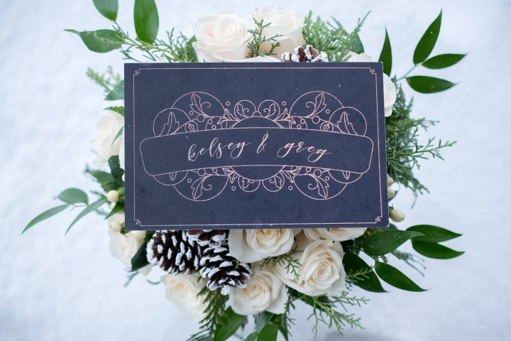 Kelsey & Greg's Gatsby Winter Wedding